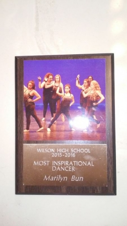 🏆💃 Most Inspirational Dancer Award