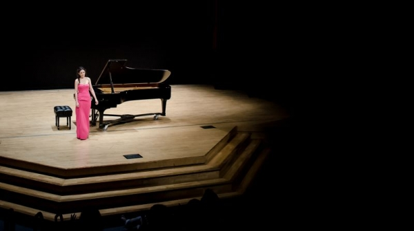 My recital at Winfred Smith hall