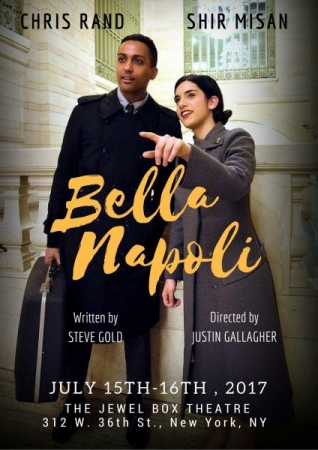BELLA NAPOLI was produced in Manhattan twice and in Long Island in 2017 at various play festivals. Directed by Justin Gallagher.