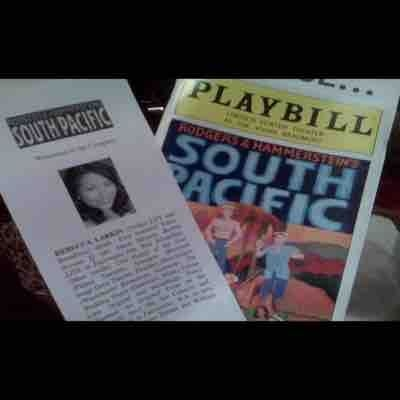 Broadway playbill of South Pacific