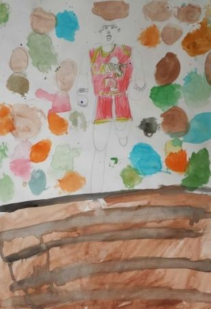 Age: 7 Medium: Watercolor