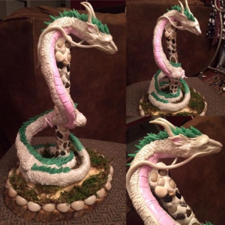 Sculpture out of polymer clay by Jordin Poeschl