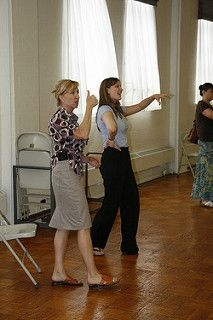 """Teaching students at my """"Beyond Pop"""" camp, which taught opera, operetta, and musical theater styles, in 2015"""