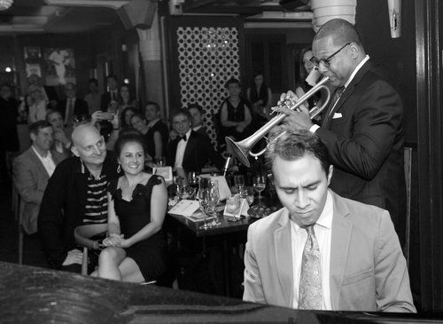 A performance with Wynton Marsalis
