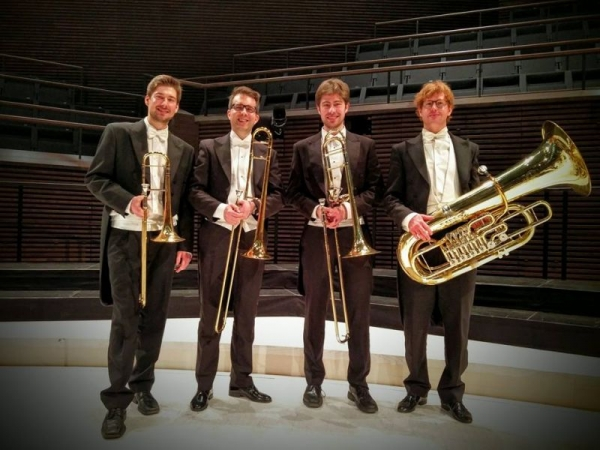 Finnish Radio Symphony low brass section after a concert!