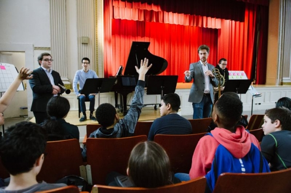 Interactive Performance for students