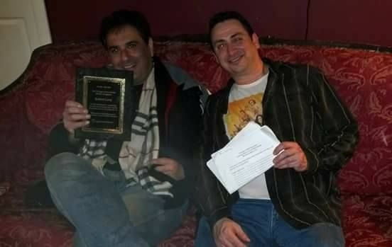 These handsome gents are the director and star of an original play I was working with - got rave reviews!