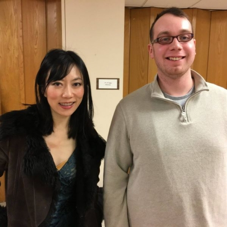 Me with the world famous classical guitarist Xuefei Yang. It was incredible to see her play live!!