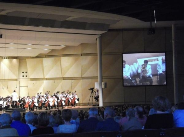 Playing Bydlo with the Chicago Symphony at Ravinia (2012)