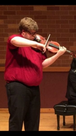 Screenshot from a Solo Recital