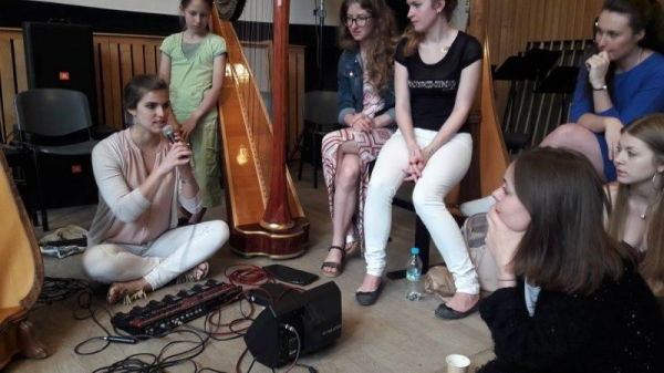 Harp workshop in Warsaw (Poland) - June 2017