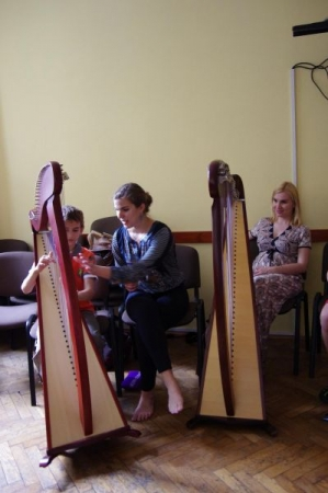 Harp workshop in Krakow (Poland) - June 2017