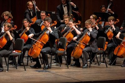 Performing with the Florida State University Orchestra