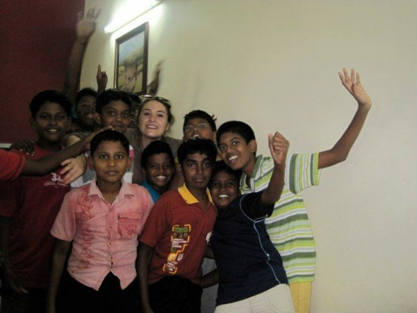 Working at Kings School in Tamil Nadu