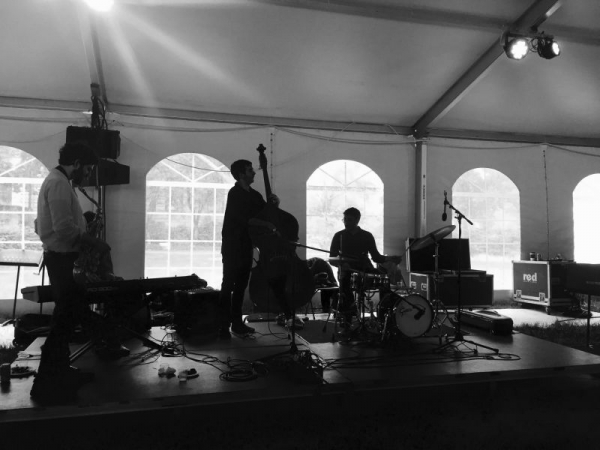 Tent Gig with the Quartet
