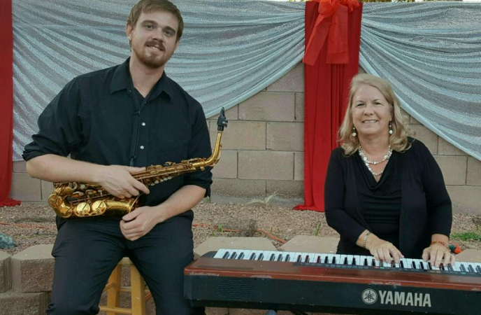 Dee Fleming, piano; Alex Young, Saxophone more recent duo