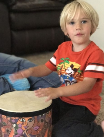 Drumming to learn about Rhythm