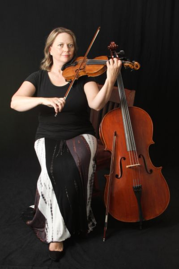 I am teaching violin, viola and cello