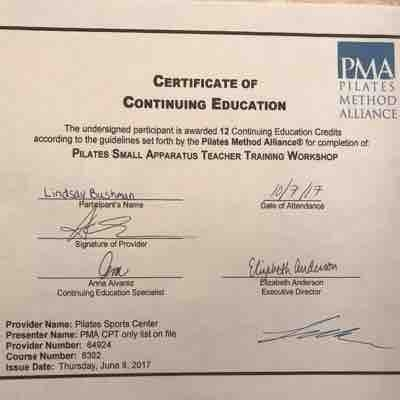 PMA Small Apparatus Certification
