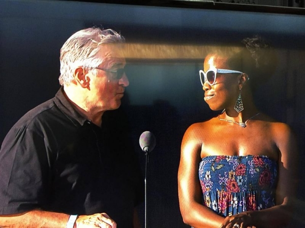 Actor Robert Deniro and Actress Valeka J Holt