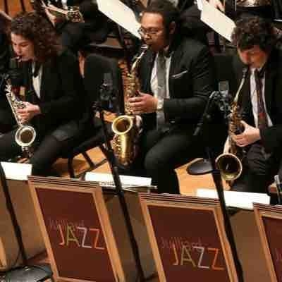 With the Juilliard Jazz Orchestra