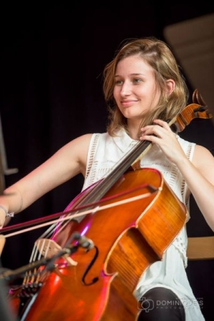 Montreux Jazz Festival in 2014, performing with cello rock ensemble Low Strung