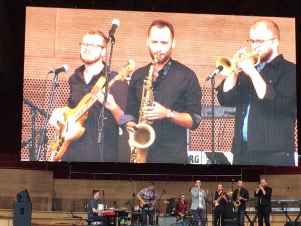 Bassel and the Supernaturals at Millennium Park