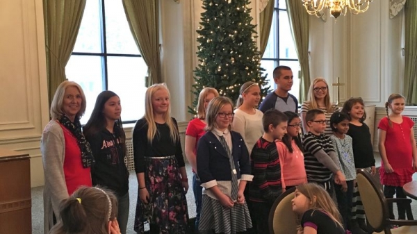 Mozart Music & More Holiday Recital - The Manor Retirement Center in Mason City, Iowa - December, 2016
