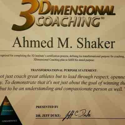 3Dimensional coaching certification