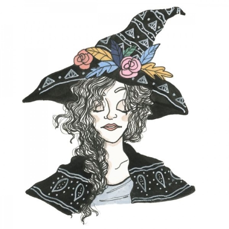 """Little Fall Witch""