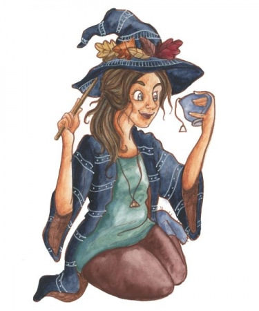 """Tea Witch""