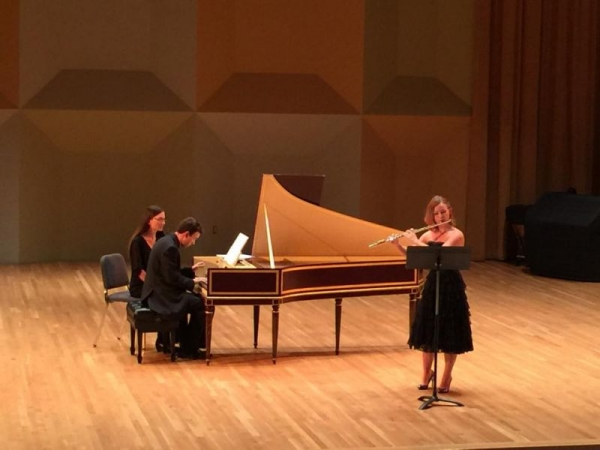 Bach Sonata studio recital - Frost School of Music