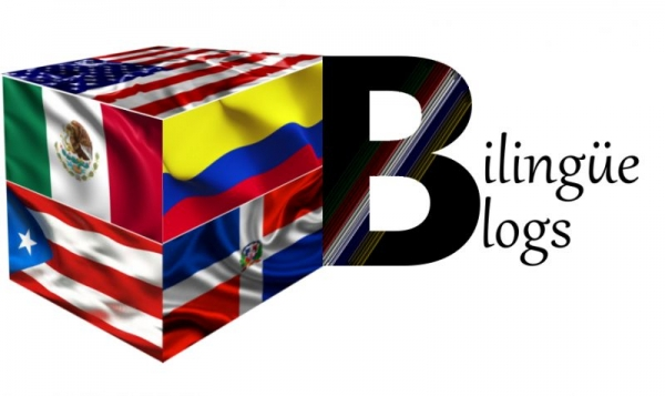 Half of the Bilingüe Blogs logo