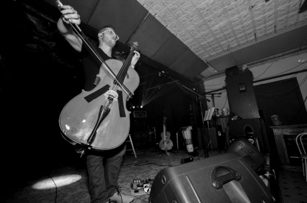 playing at Cyber West Cafe back in 2014