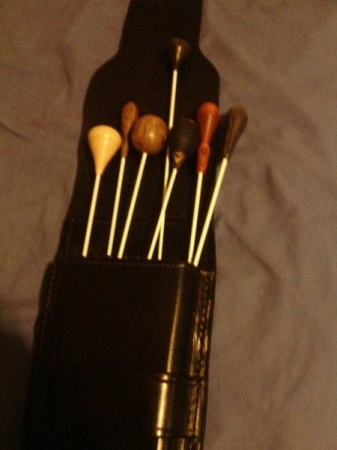 My Conducting Batons for when I conduct various Orchestra's