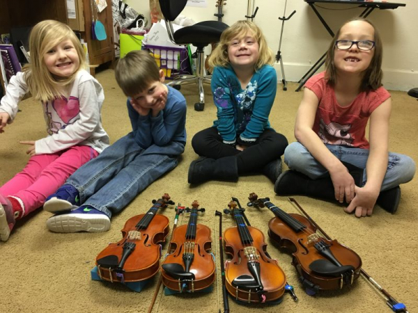 Beginner Violin Group