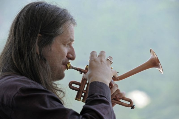 All the horns I play are custom made at my family business in Austria. Here is one of a kind :} Dizzy goes piccolo trumpet