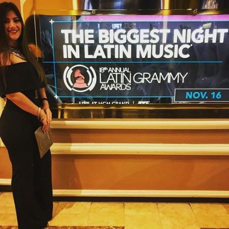 At the Latin Grammys! :)