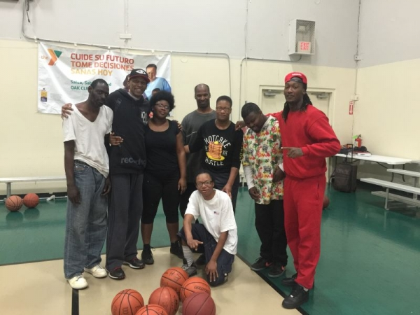Our Special Needs Group Training at the YMCA