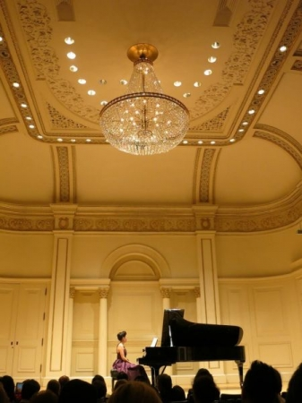 My Carnegie Hall solo debute in 2015. It was a remarkable night.