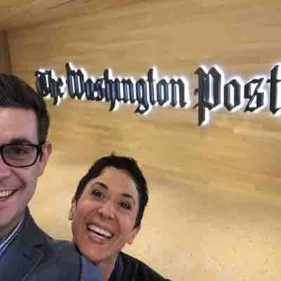 Photo shoot with Washington Post!