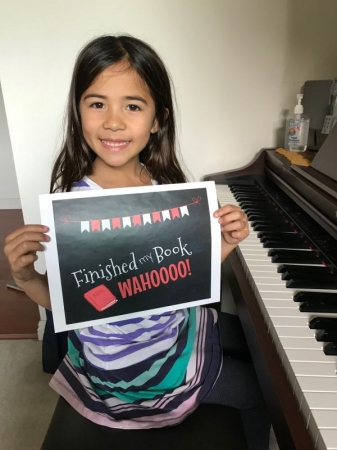 First piano book completed!