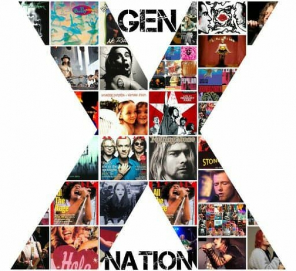 Gen X Nation logo