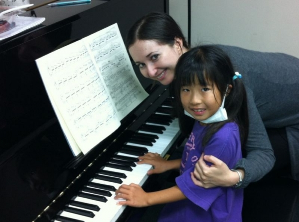 Risa's Piano Lesson