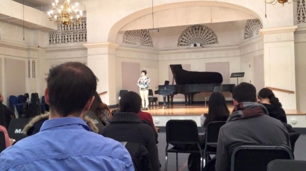 My solo concert and presentation