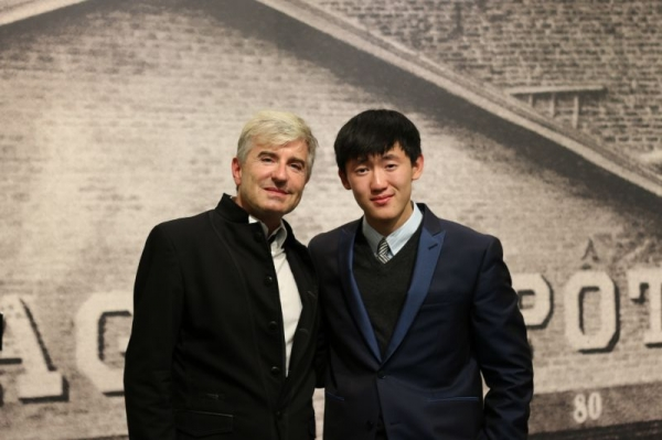 Performance with Jean-Claude Thibaudet, acclaimed French pianist