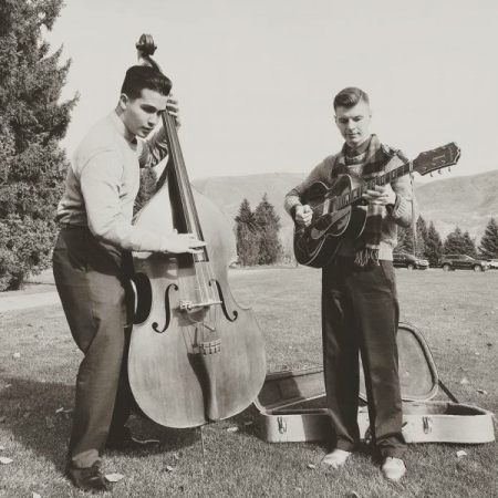 One of my best friends and I Jacob Miller playing in Sun Valley, ID.