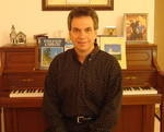 At home with my piano.