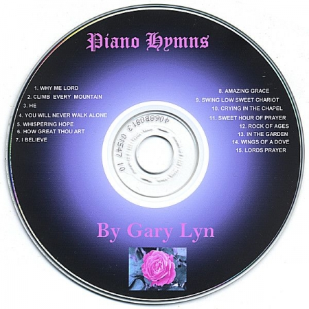 My Piano Hymn's Cd online at iTunes