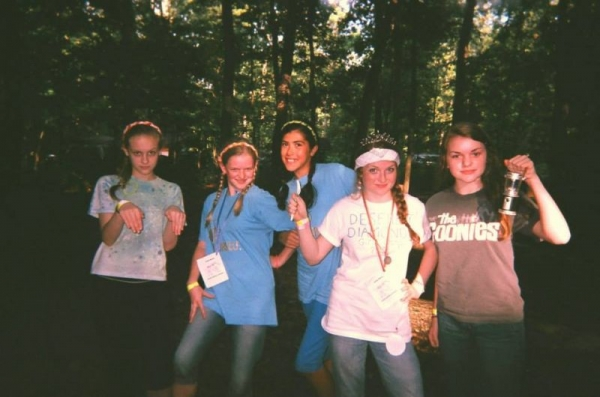 summer camp students